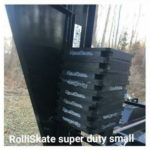 Tow behind Roll off Trailer using RolliSkate