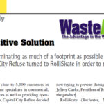 New Case study feature Capital City Disposal, speak highly of RolliSkate